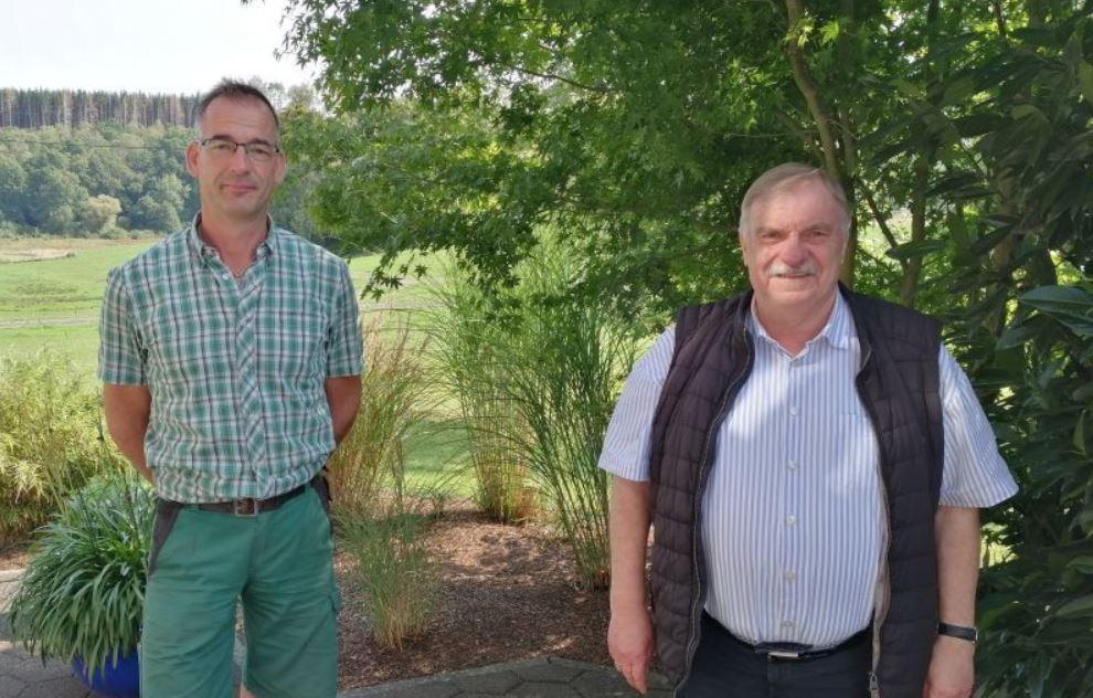 Sowohl Horst Klein (rechts) als auch Mirko Müller sehen sich keinen weiteren Bewerbern um die Positionen des Ortsbürgermeisters und des Ortsvorstehers gegenüber. (Foto: hak)