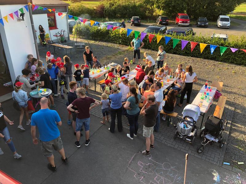 Beim DLRG-Sommerfest hatten Groß und Klein ihren Spaß. Foto: Privat