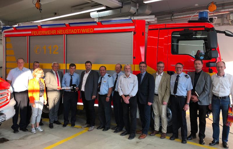 Feuerwehr Neustadt hat zwei neue Fahrzeuge