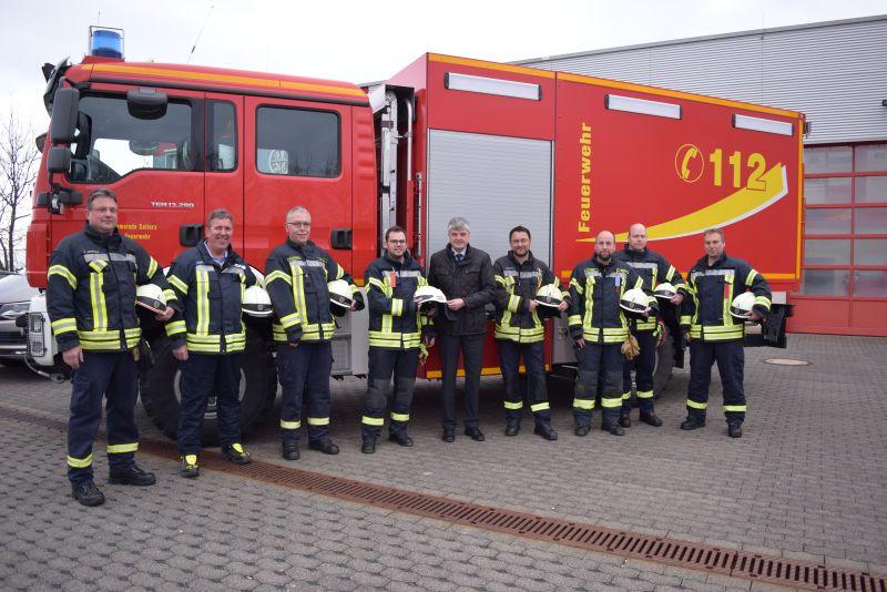 VG Selters investiert in Sicherheit ihrer Feuerwehrangehörigen