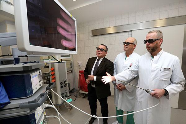 3D Operationen im DRK Krankenhaus Neuwied