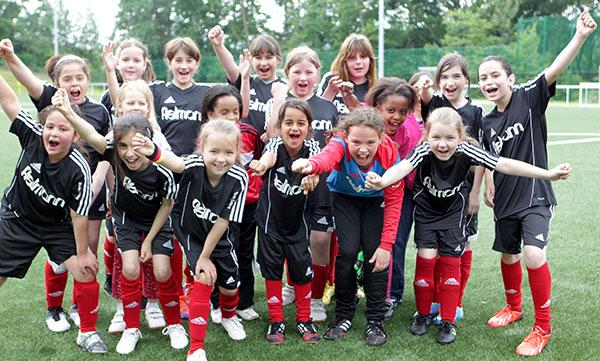Tag des Mädchenfußballs im Rhein-Wied-Stadion
