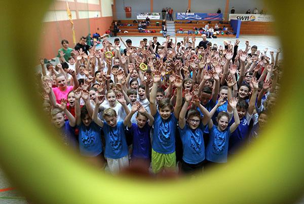 Carmen-Sylva-Schule stellt die zweitbeste Ringtennis-Mannschaft