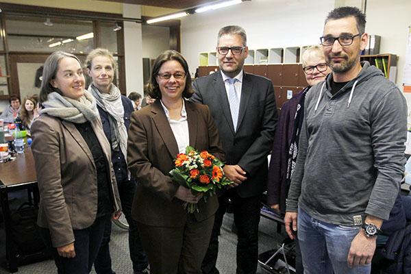 Christine Schleif von Schulrat Kurtscheid zur Rektorin ernannt