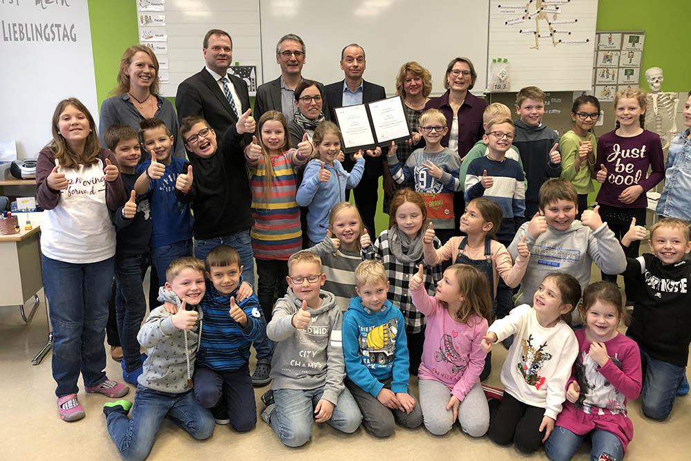Schule Norken erhält Förderzusage aus Digital-Pakt Schule
