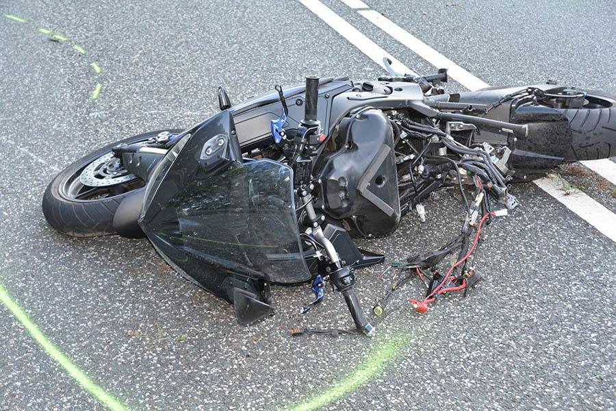 Tödlicher Motorradunfall zwischen Hachenburg und Kirburg