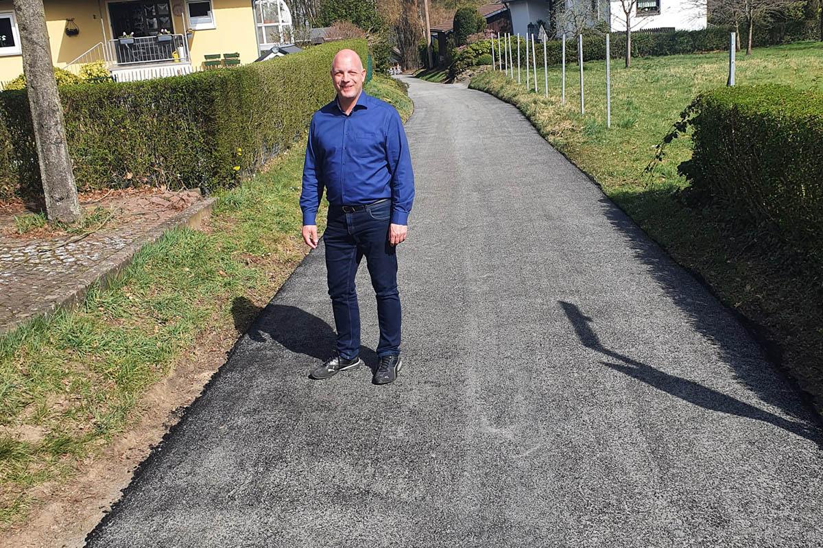 Sanierung der Vierwindener Straße in Windhagen