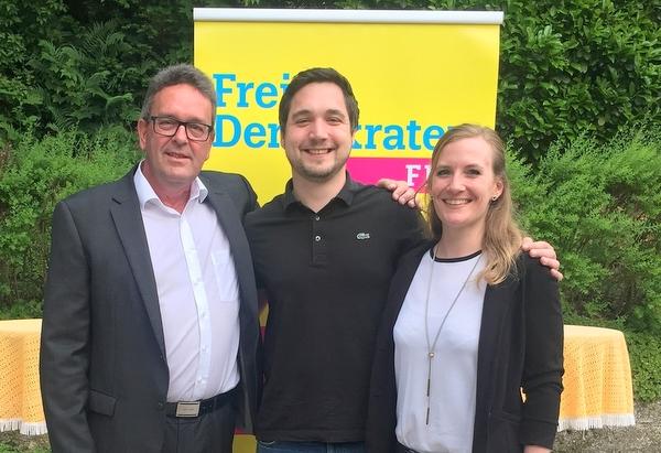 Wechsel bei der FDP Kirchen: Steffen Schlechtriemen folgt auf Robert Stettner