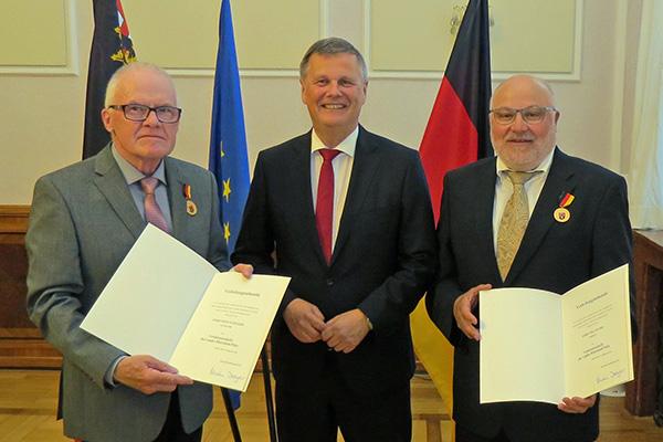 Ehrenamtliches Engagement von Erich Schneider gewürdigt