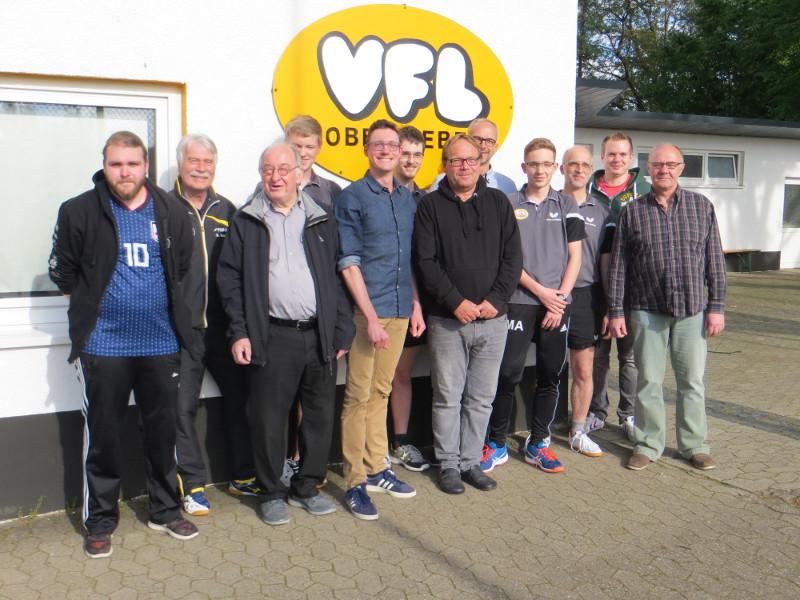 VfL Oberbieber: Tischtennis-Abteilung wählt Vorstand
