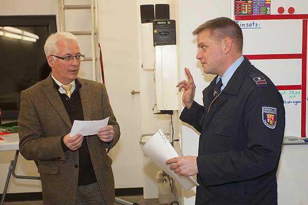 Peter Reusch ist neuer Wehrführer in Oberdreis. Fotos: Feuerwehr VG Puderbach