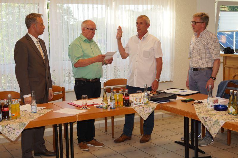 Konstituierende Sitzung des Ortsgemeinderates Oberhaid