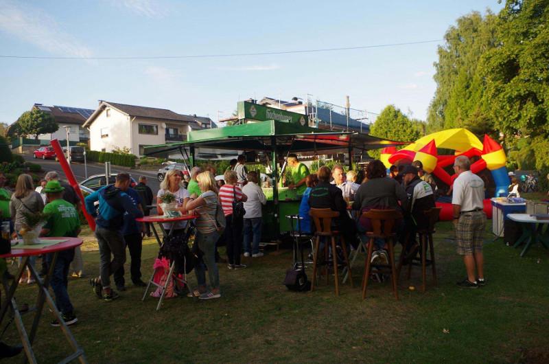 Die Oberhonnefelder hatten viel Spaß beim Brunnenfest. Foto: Verein
