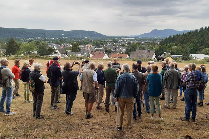 Historischer Ortsspaziergang Rheinbreitbach kam gut an