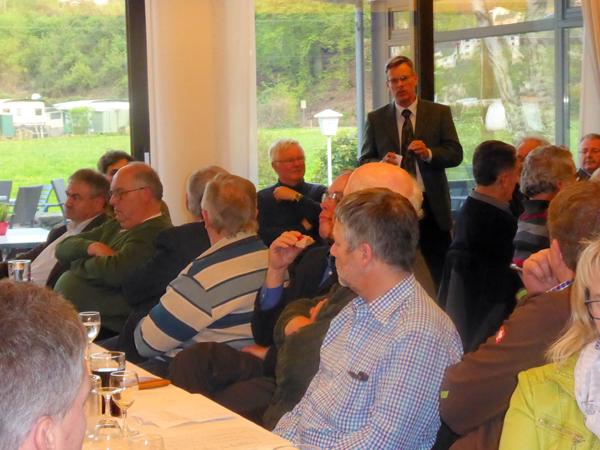 Jahresmitgliederversammlung des Kreiswaldbauvereins Neuwied