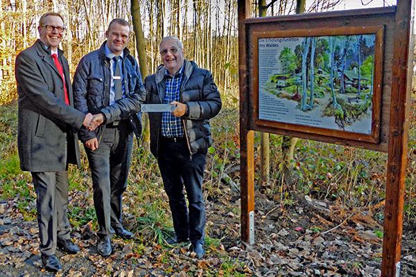 Der Waldlehrpfad Bad Marienberg in neuem Glanz