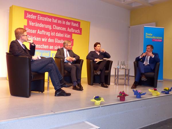 Wolfgang Clement zu Gast beim FDP-Kreisverband Neuwied