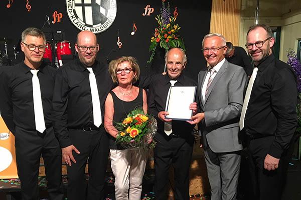 Musikverein Wiedklang Waldbreitbach feierte 60. Jubiläum