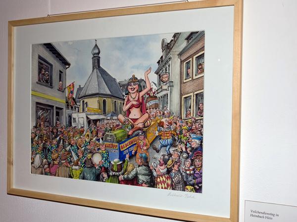 """""""Es war nicht alles nur Karneval"""" – bald in der Stadtgalerie Neuwied"""