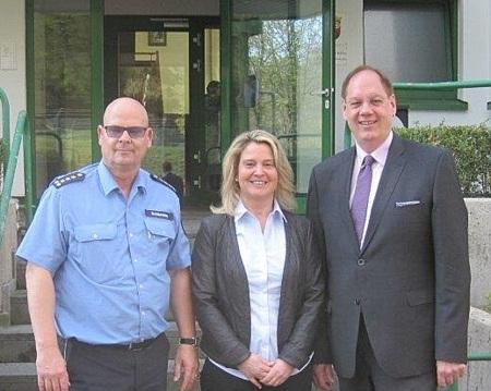 Polizei Altenkirchen: Anja R�benach folgt auf J�rgen Kugelmeier