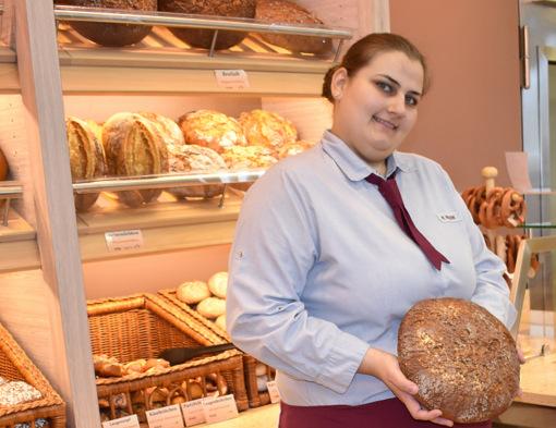 Maria Massini ist die beste Fachverkäuferin im Lebensmittelhandwerk