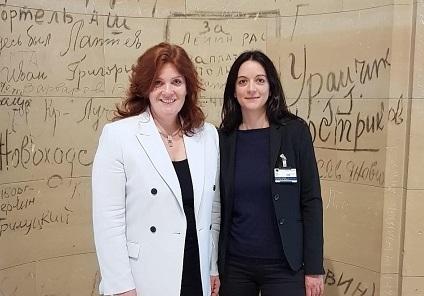 Wirtschaftsjuniorin begleitete MdB Sandra Weeser im Berliner Alltag