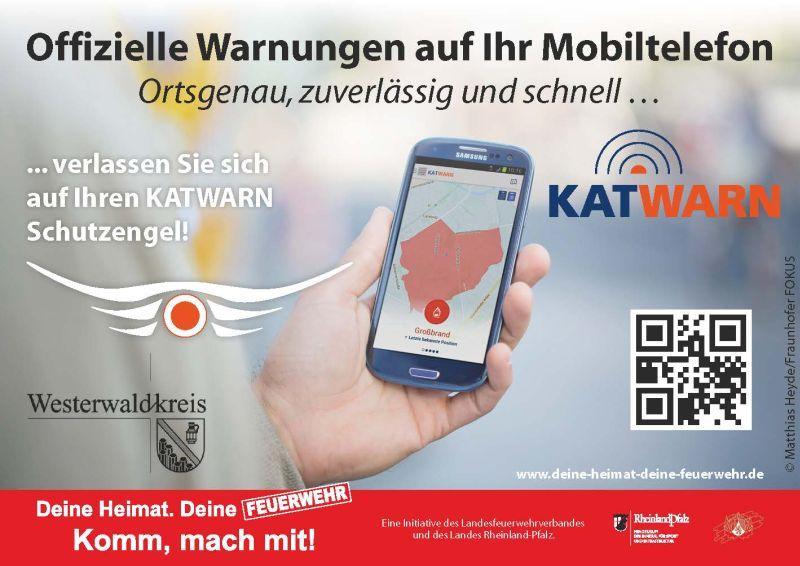 Landesweiter Probealarm mit Warn-App - KATWARN