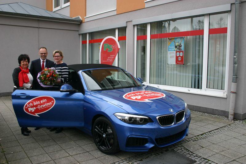 Autos bei Sparkassen-Lotterie gewonnen