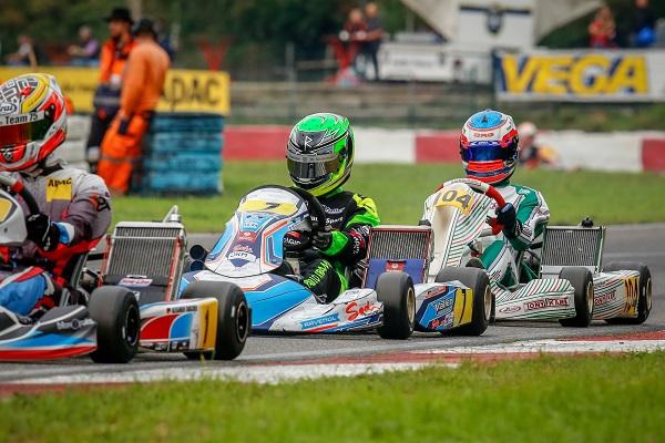 Pablo Kramer beeindruckt beim Saisonfinale des ADAC Kart Masters