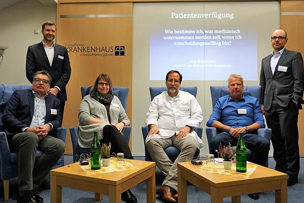 """Information """"Patientenverfügung"""" im Krankenhaus Dierdorf"""