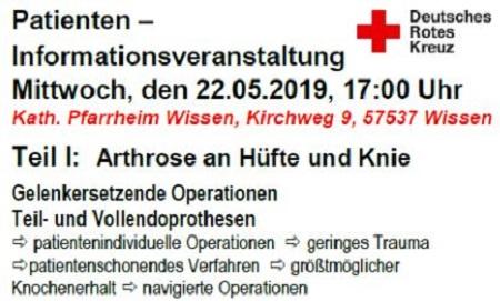 DRK-Krankenhaus Kirchen: Infoveranstaltung der Chirurgie