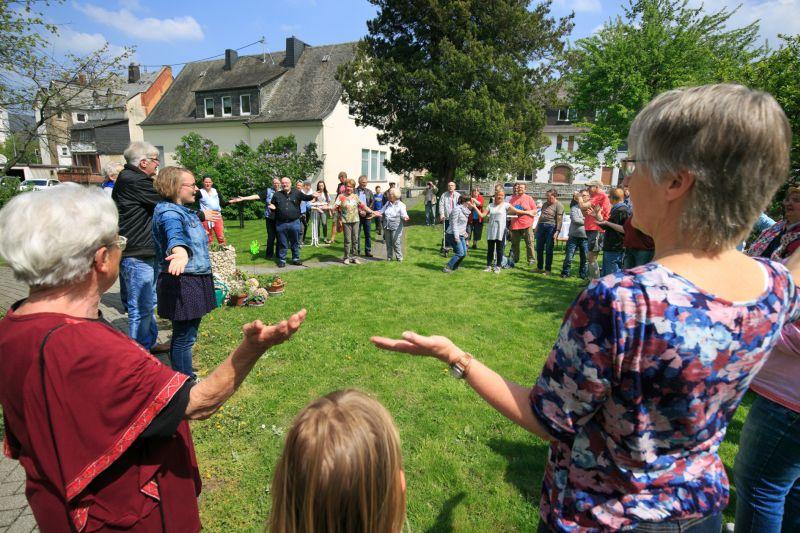 Kirchengemeinde Montabaur öffnet ihren Garten