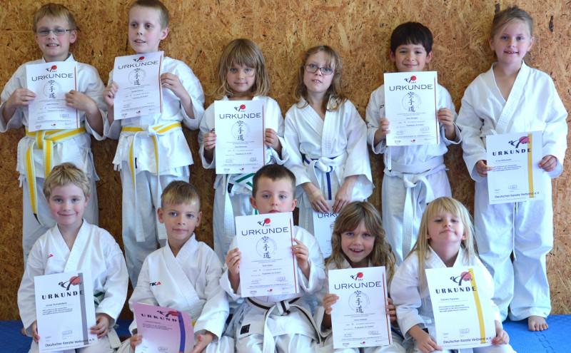 KSC Karate Team: Herbst Camp und viele Prüfungen