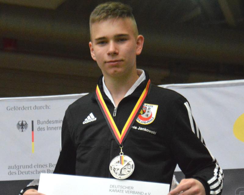 Karate: Denis Jankowski ist Deutscher Vizemeister