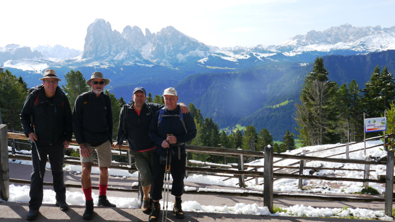 Lauftreff Puderbach  wanderte in Südtirol
