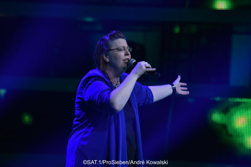 Penni-Jo bei Voice of Germany