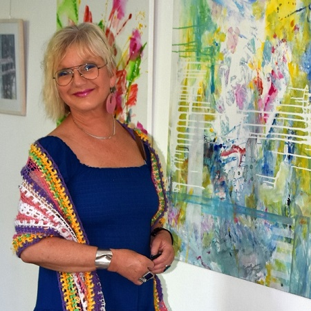 Künstlerin Petra Moser stellt im Stöffel-Park aus