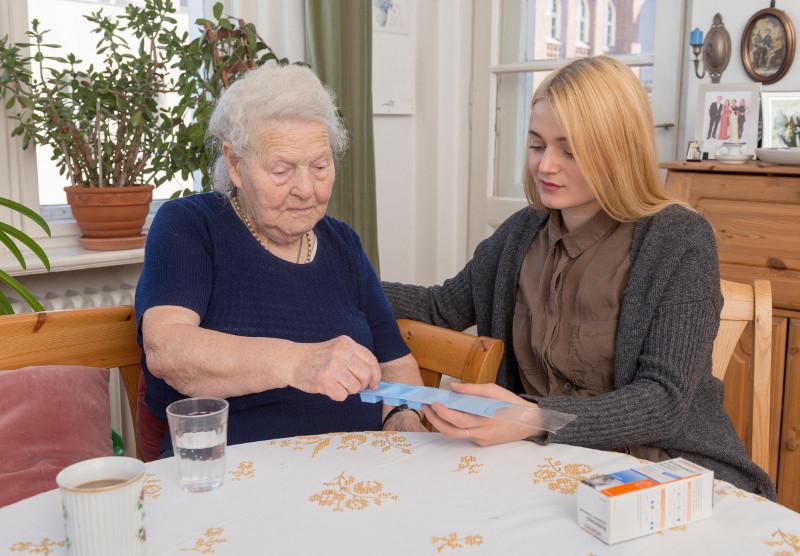 Gesetzlich unfallversichert bei der häuslichen Pflege