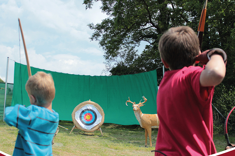 Bogenbaukurs für Kinder in Römer-Welt Rheinbrohl
