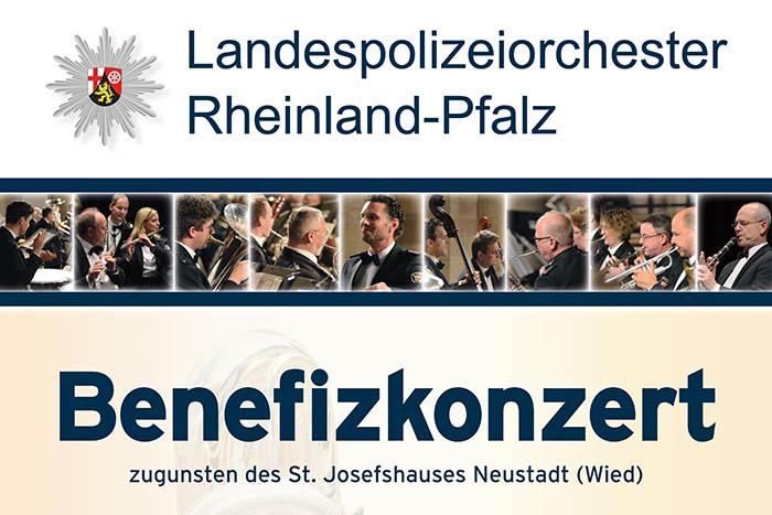 Benefizkonzert mit Landespolizeiorchester Rheinland-Pfalz in Neustadt