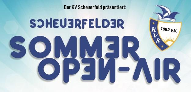 Sommer-Open-Air: KV Scheuerfeld geht neue Wege