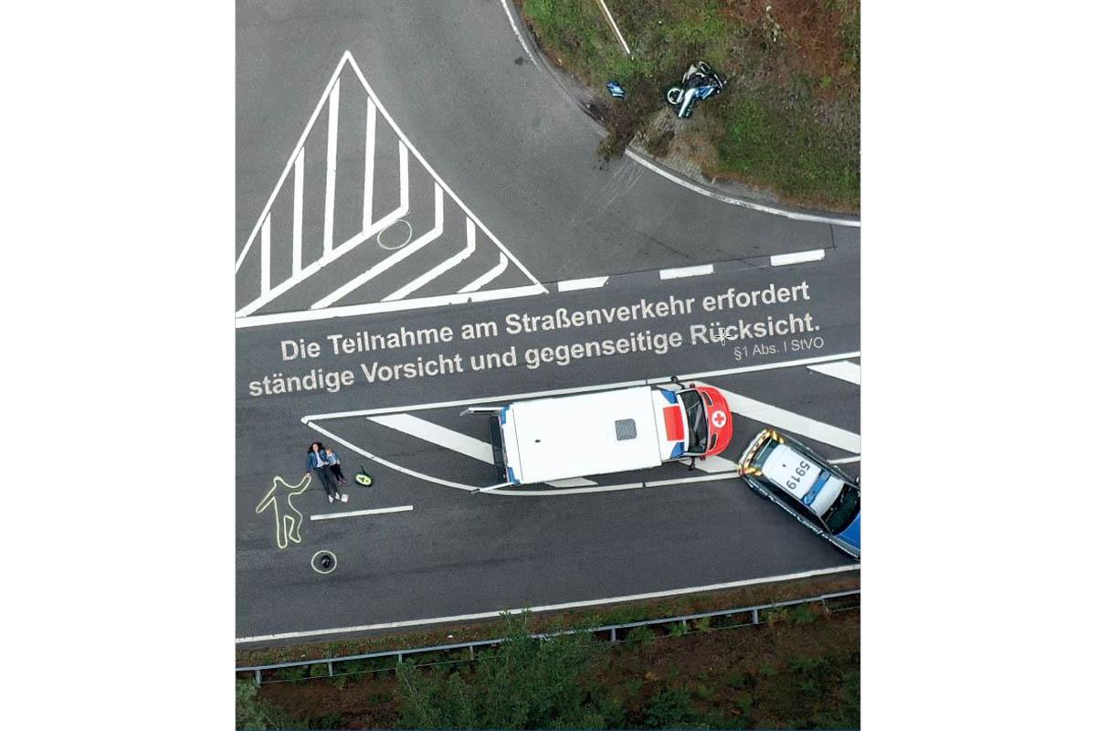 Polizei startet in Aktionsmonat zur Motorradsicherheit