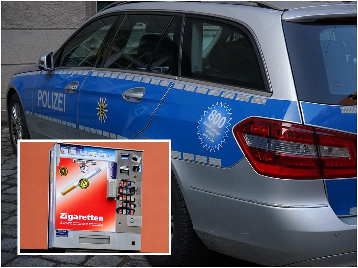 Zigarettenautomat gesprengt! Zeugen in Heilberscheid gesucht