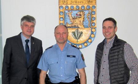 Frank Graf ist neuer Bezirksbeamter in Selters