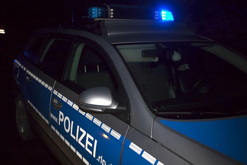 Unfall in Hachenburg deckt Straftat auf