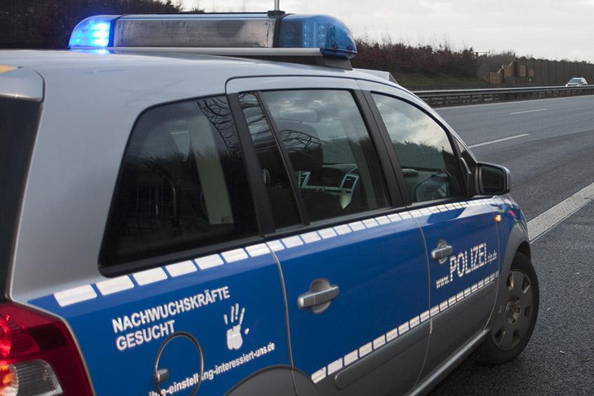 Rumänischer Kraftomnibus fiel bei Polizeikontrolle durch