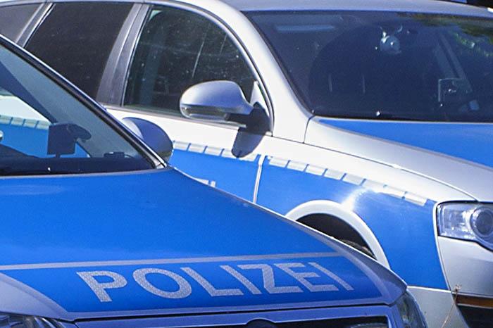 Spezialkräfte der Polizei in Neuwied im Einsatz