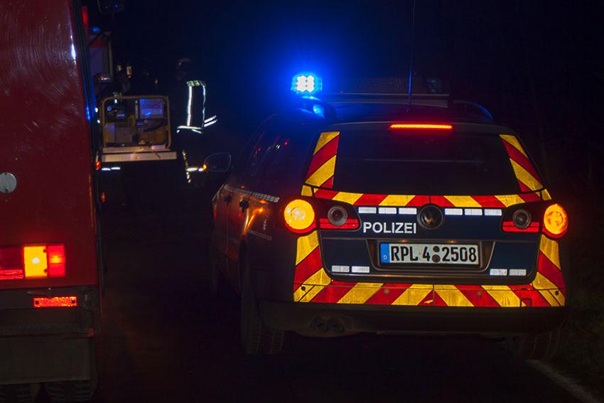 Unfall unter Alkoholeinwirkung – drei Schwerverletzte