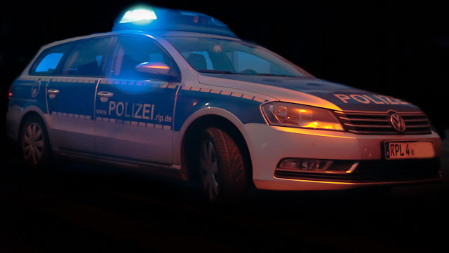 Viel Polizeiarbeit an Ostern