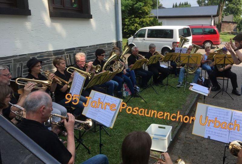 Posaunenchor Urbach feiert 95-jähriges Jubiläum